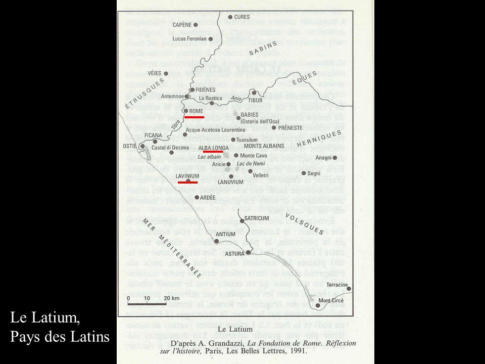 Le Latium, Pays des Latins