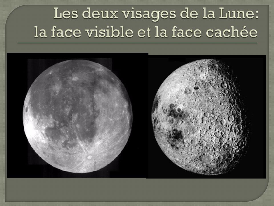 Les deux visages de la Lune: la face visible et la face cachée