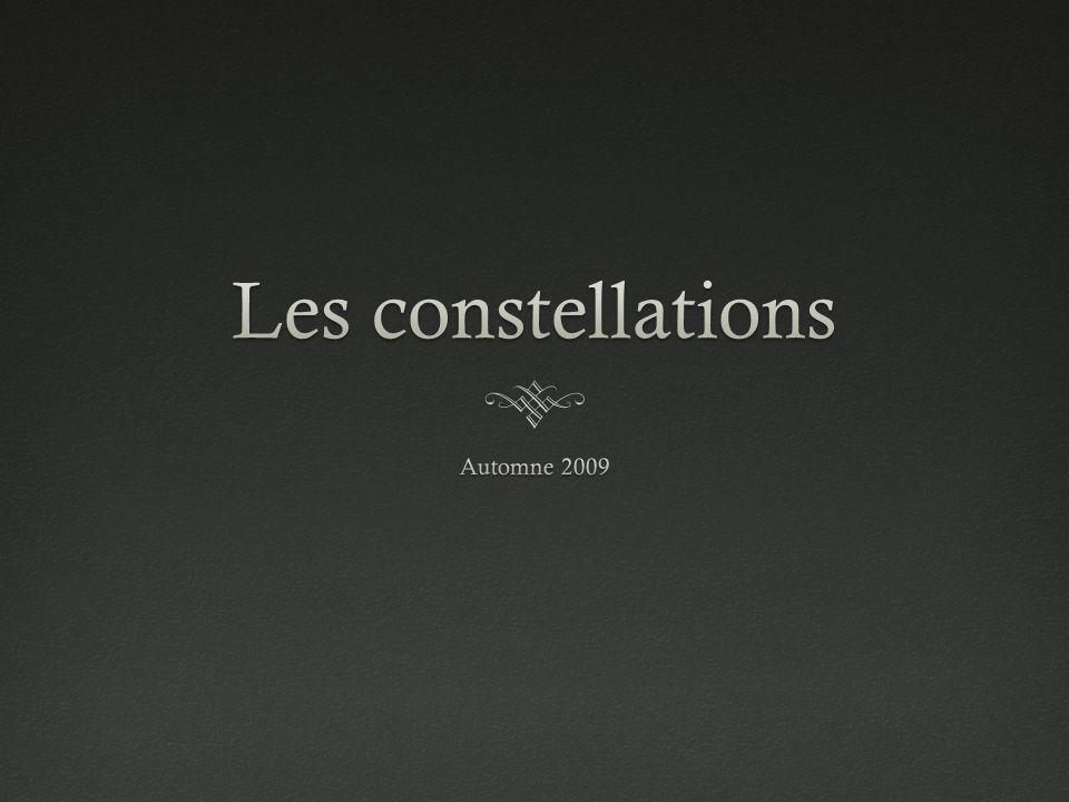 Les constellations Automne 2009
