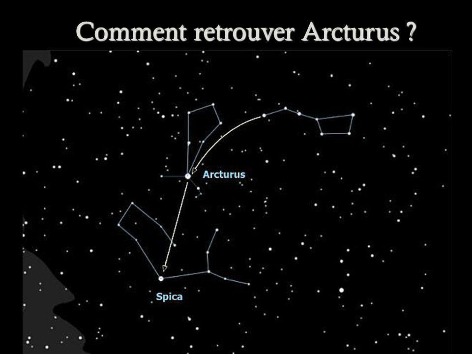 Comment retrouver Arcturus