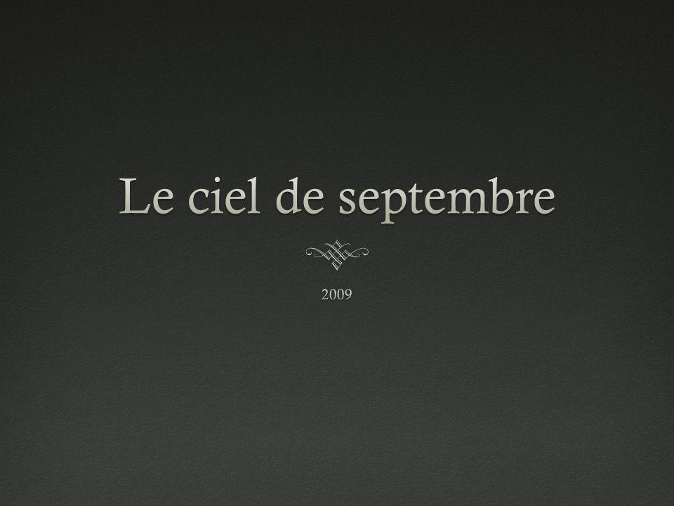 Le ciel de septembre 2009