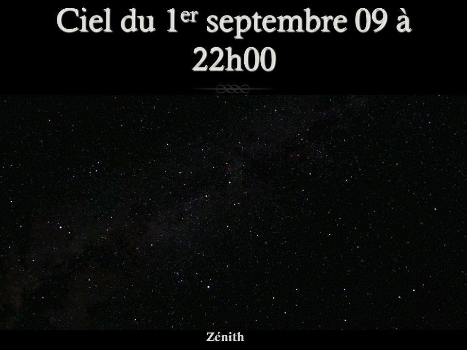 Ciel du 1er septembre 09 à 22h00 Zénith