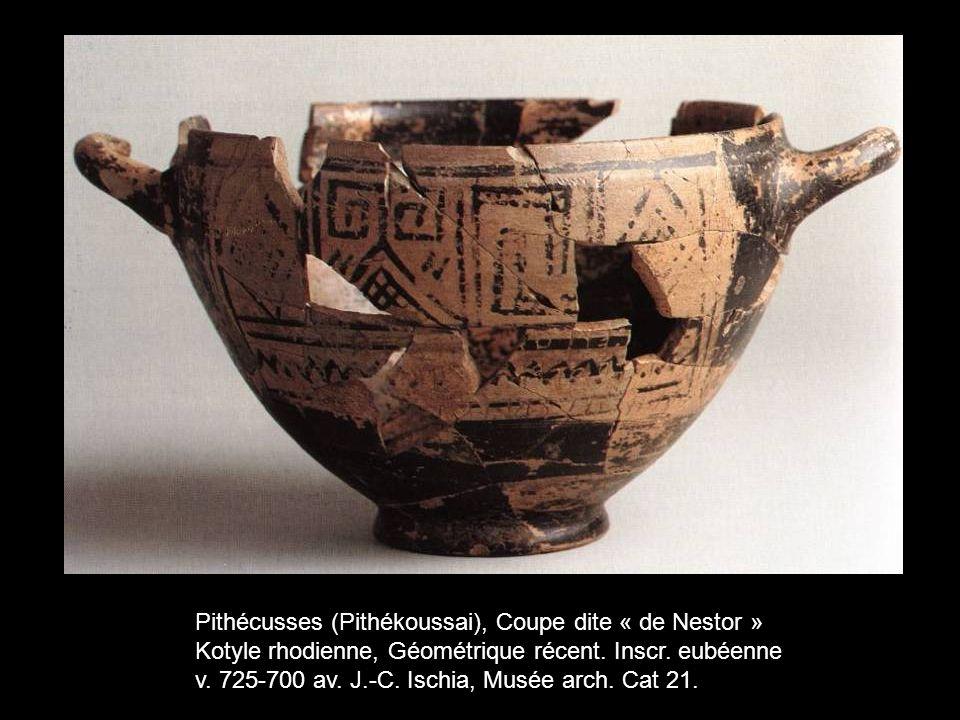 Pithécusses (Pithékoussai), Coupe dite « de Nestor »