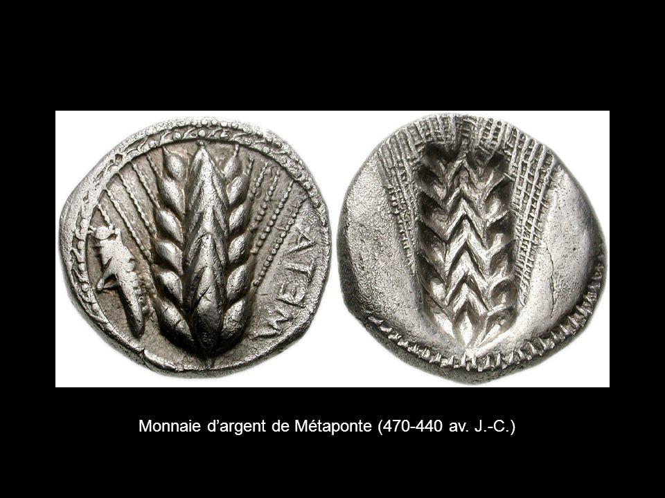 Monnaie d'argent de Métaponte (470-440 av. J.-C.)