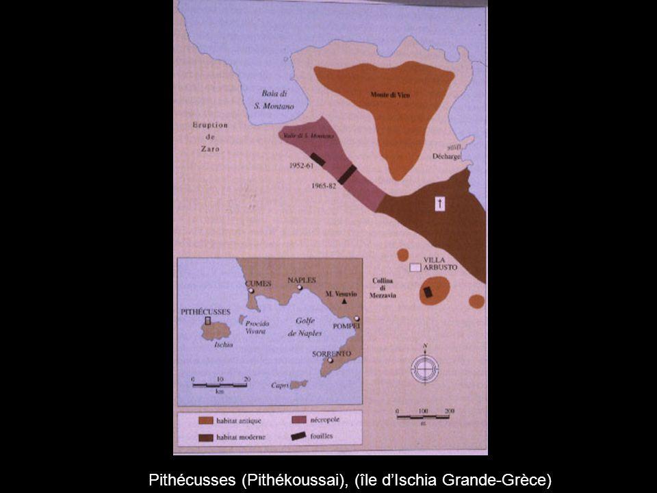 Pithécusses (Pithékoussai), (île d'Ischia Grande-Grèce)