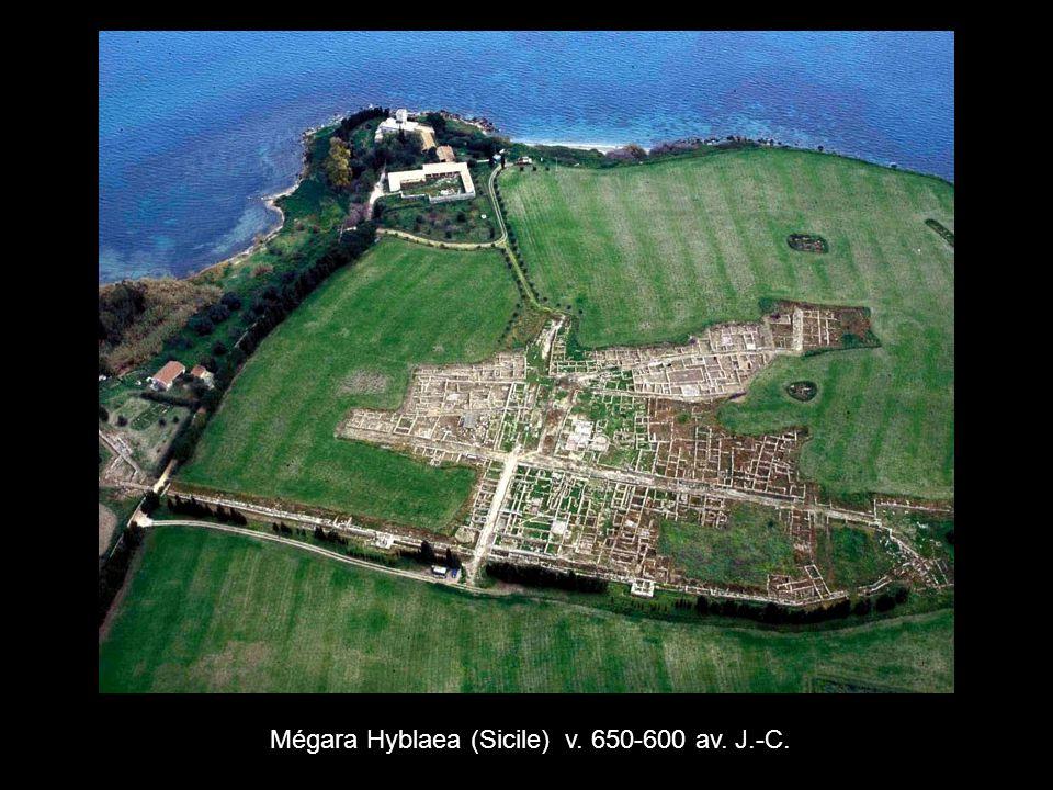Mégara Hyblaea (Sicile) v. 650-600 av. J.-C.