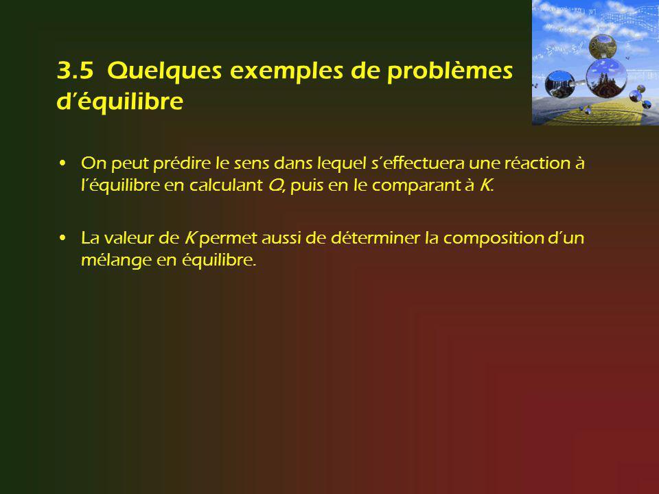 3.5 Quelques exemples de problèmes d'équilibre