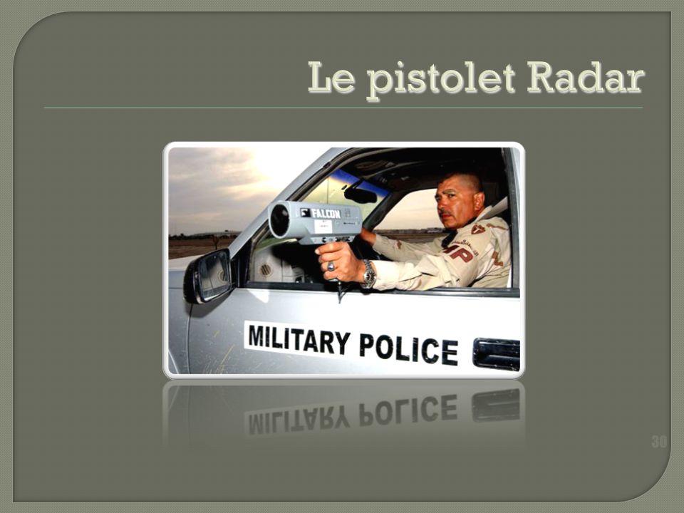 Le pistolet Radar