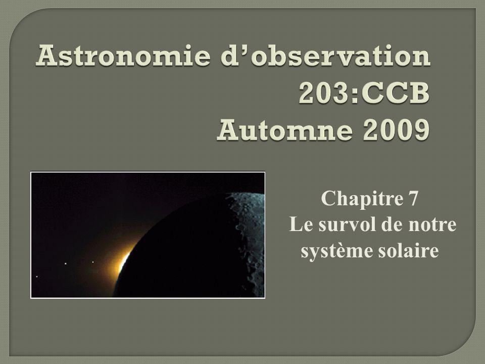 Astronomie d'observation 203:CCB Automne 2009