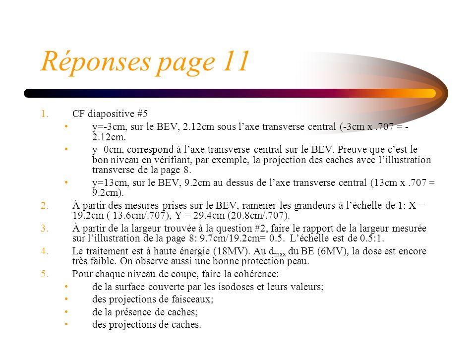 Réponses page 11 CF diapositive #5