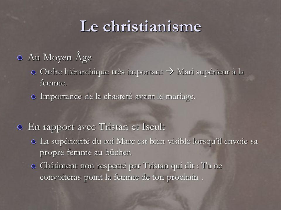 Le christianisme Au Moyen Âge En rapport avec Tristan et Iseult