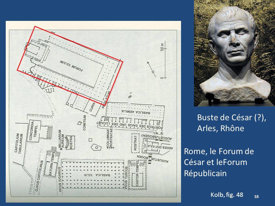 Rome, le Forum de César et leForum Républicain