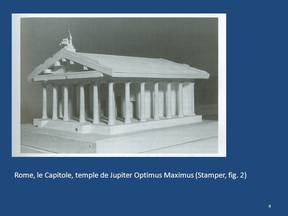 Rome, le Capitole, temple de Jupiter Optimus Maximus (Stamper, fig. 2)