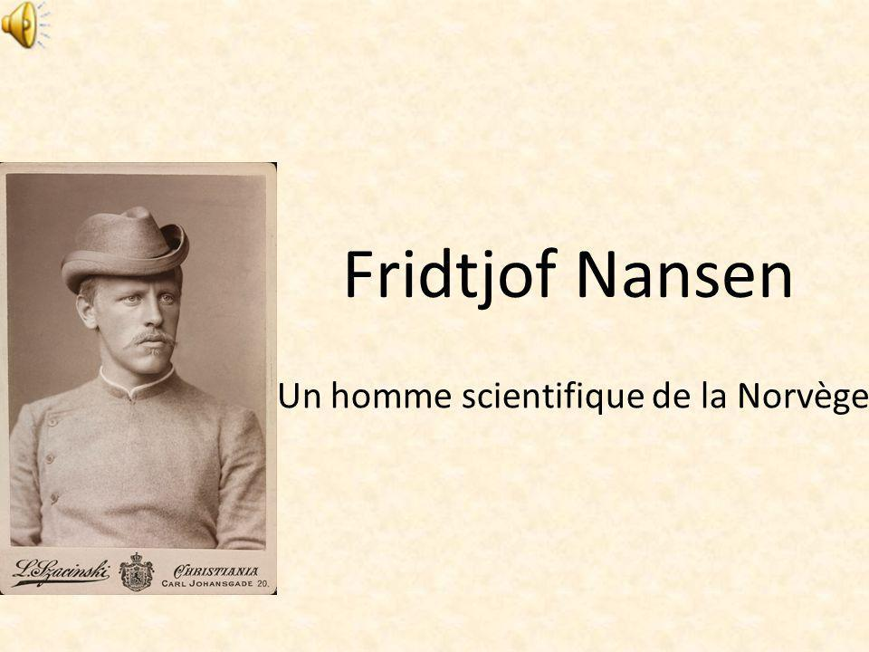 Un homme scientifique de la Norvège