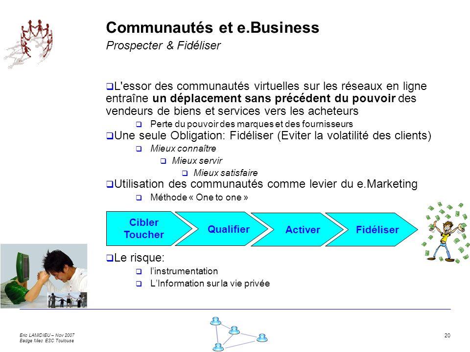 Communautés et e.Business Prospecter & Fidéliser