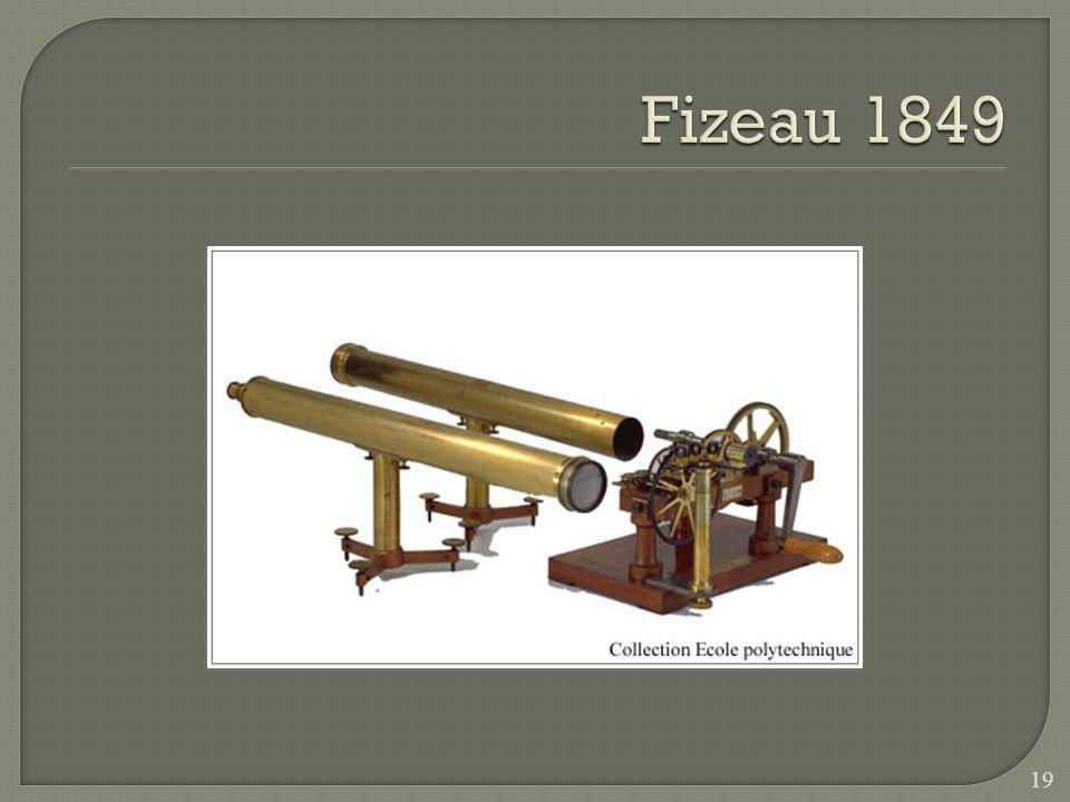 Fizeau 1849