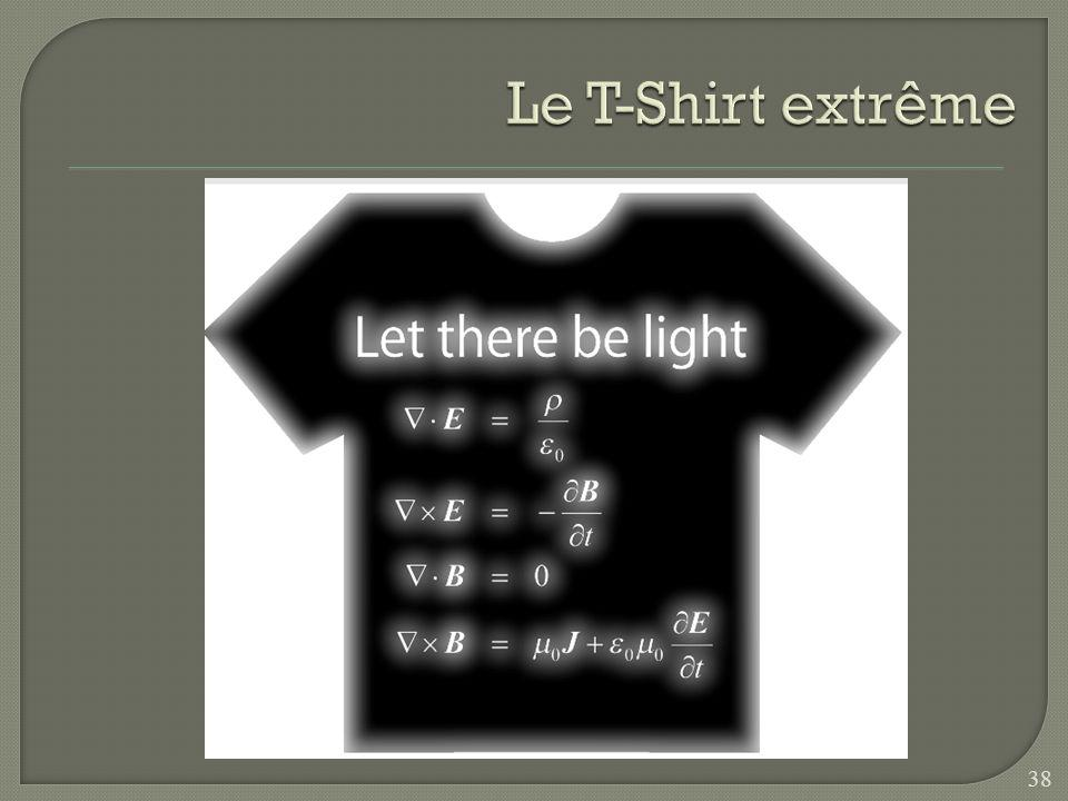 Le T-Shirt extrême