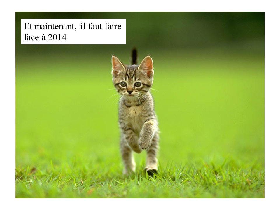 Et maintenant, il faut faire face à 2014