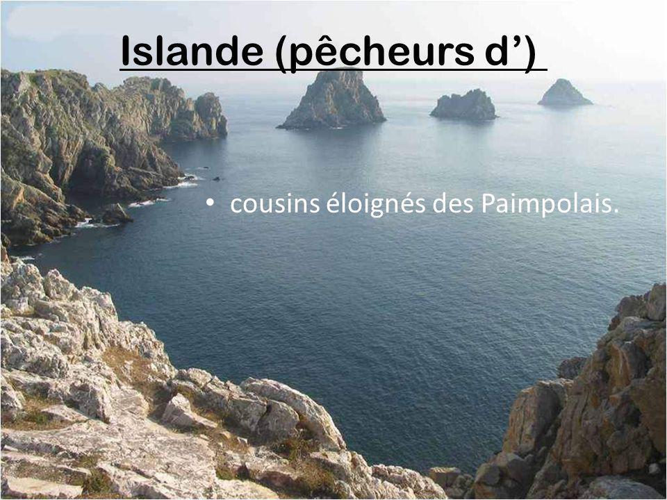 Islande (pêcheurs d') cousins éloignés des Paimpolais.