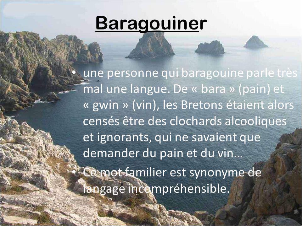 Baragouiner