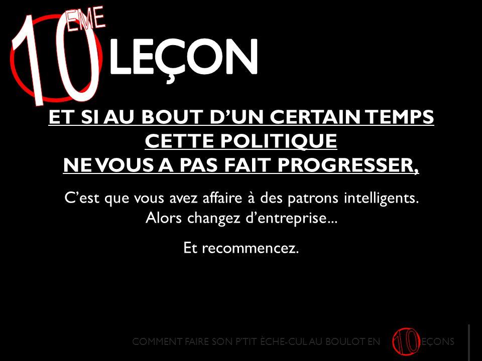 10 EME. LECON.