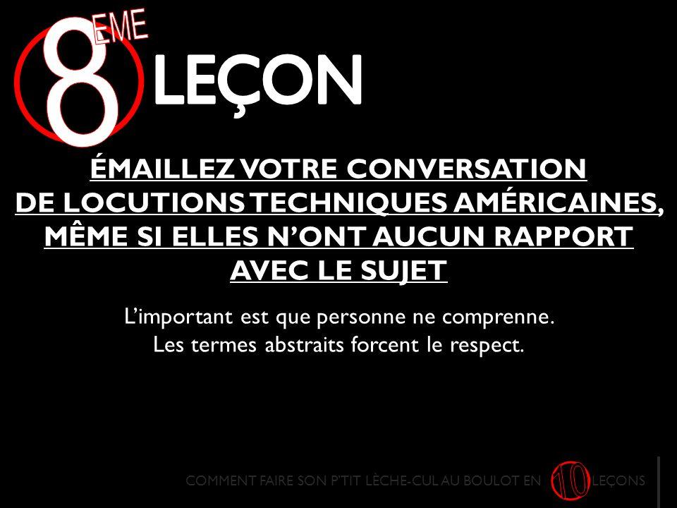 8 EME. LECON.