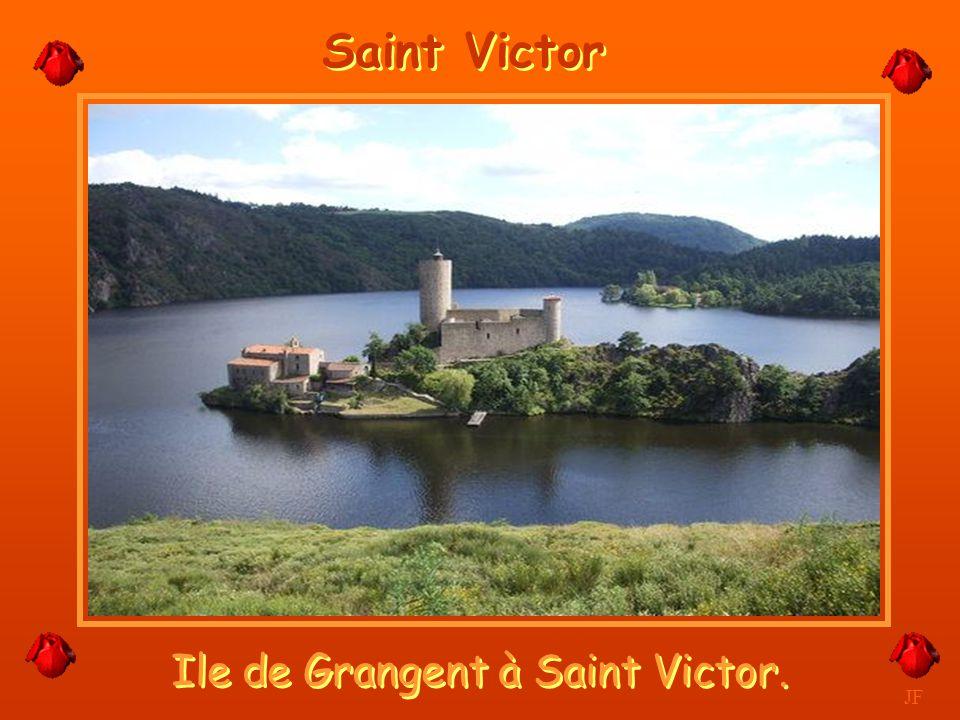 Ile de Grangent à Saint Victor.