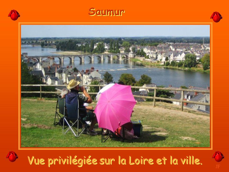 Vue privilégiée sur la Loire et la ville.