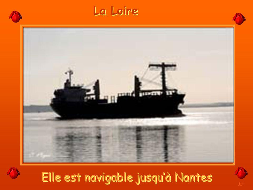 Elle est navigable jusqu'à Nantes