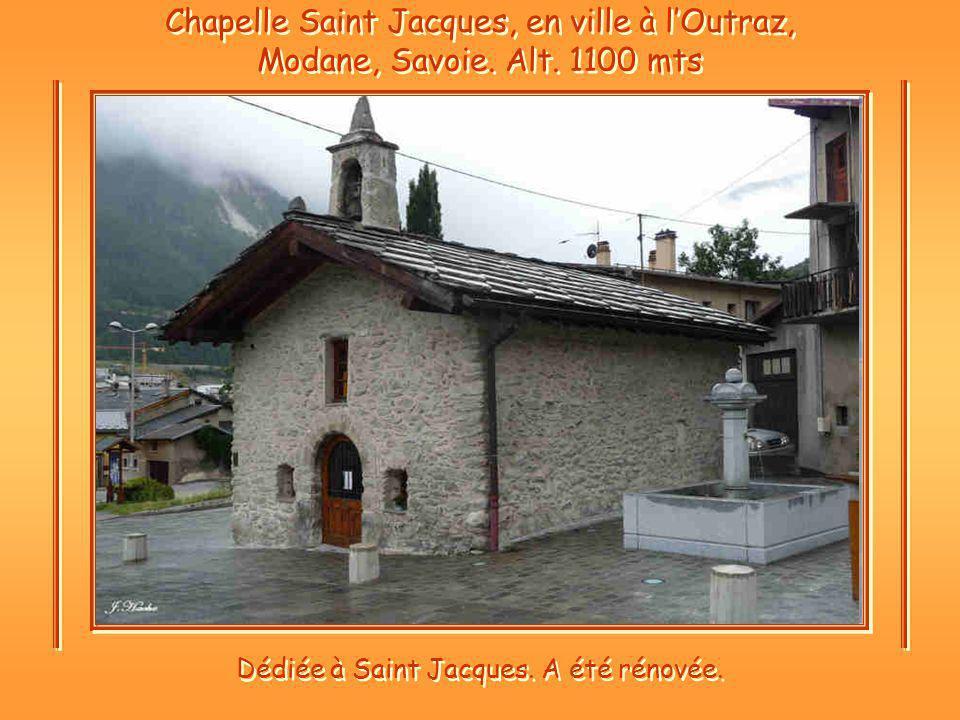 Dédiée à Saint Jacques. A été rénovée.
