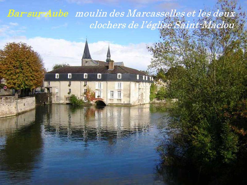 Bar-sur-Aube moulin des Marcasselles et les deux