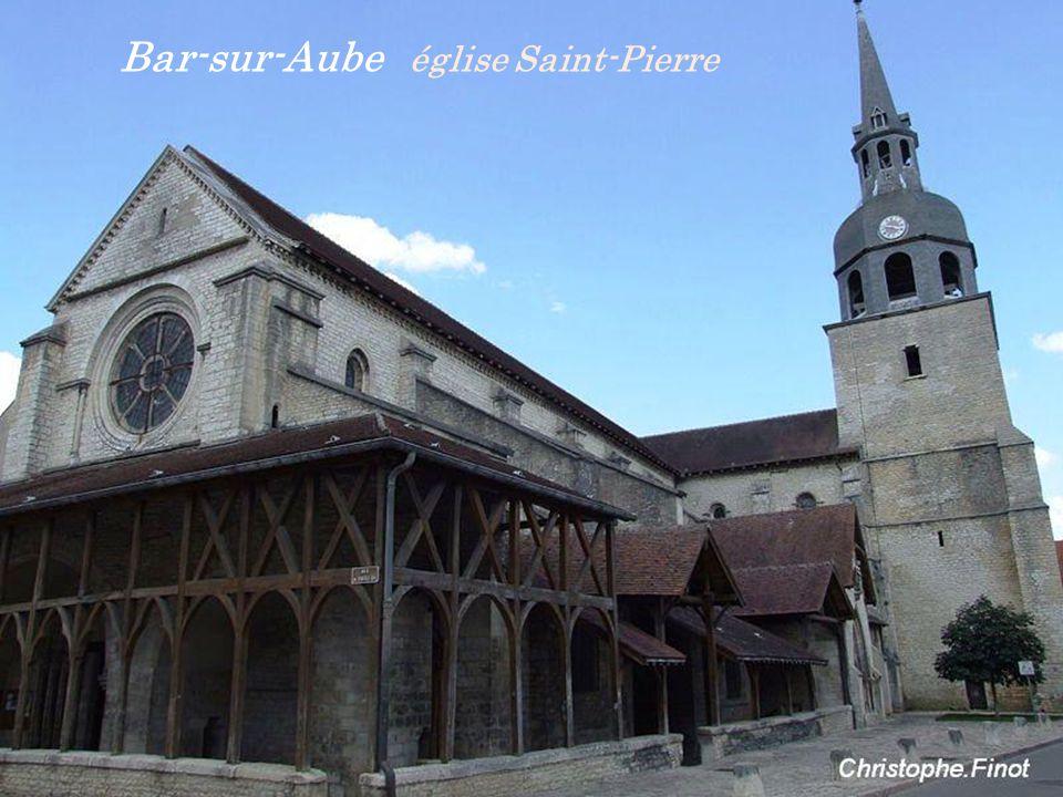 Bar-sur-Aube église Saint-Pierre