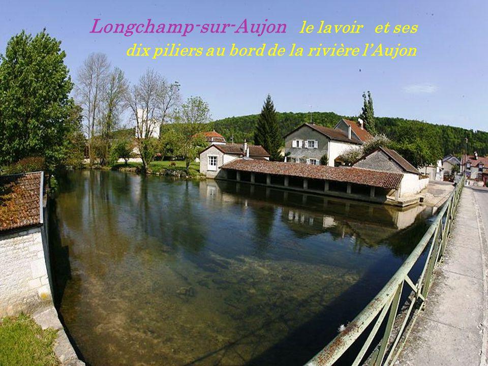Longchamp-sur-Aujon le lavoir et ses