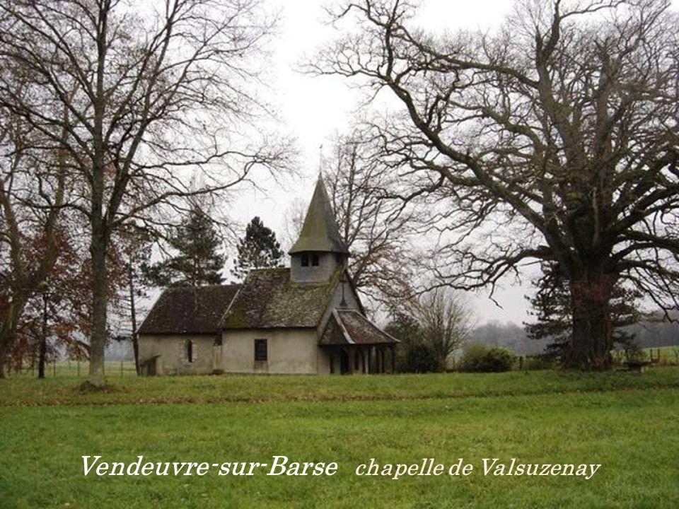 Vendeuvre-sur-Barse chapelle de Valsuzenay