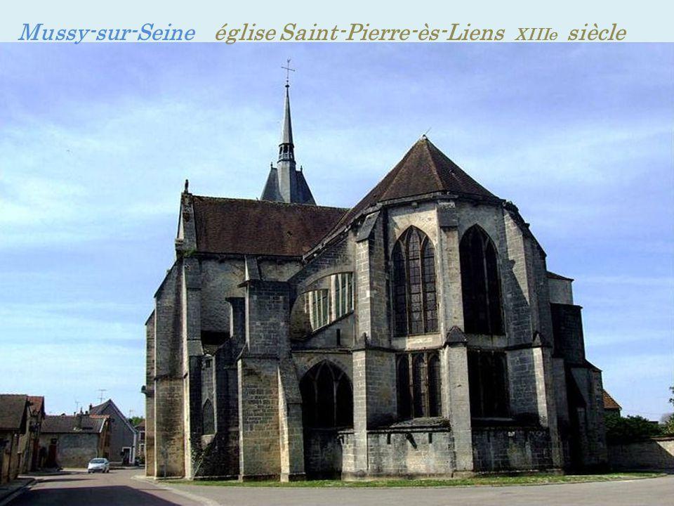 Mussy-sur-Seine église Saint-Pierre-ès-Liens XIIIe siècle