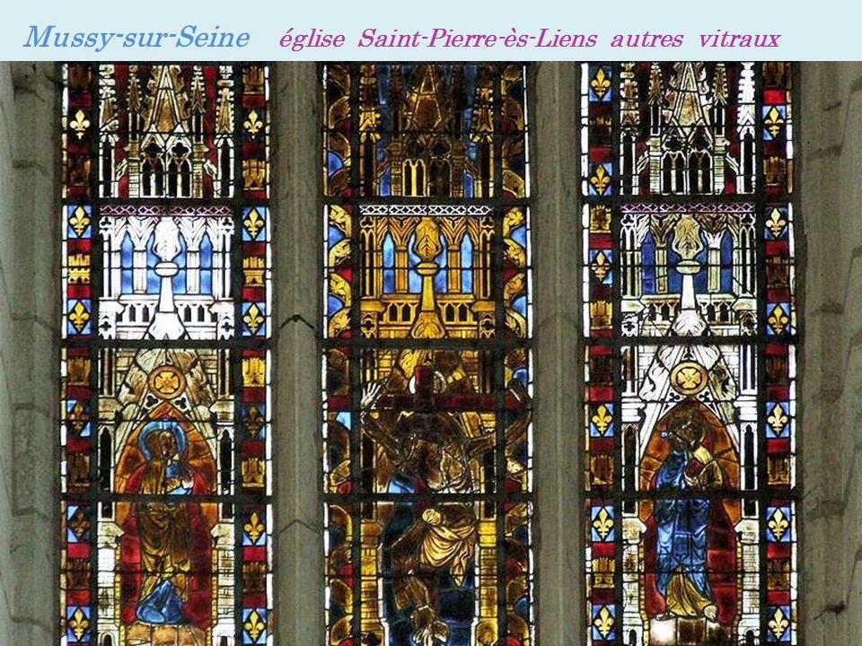 Mussy-sur-Seine église Saint-Pierre-ès-Liens autres vitraux