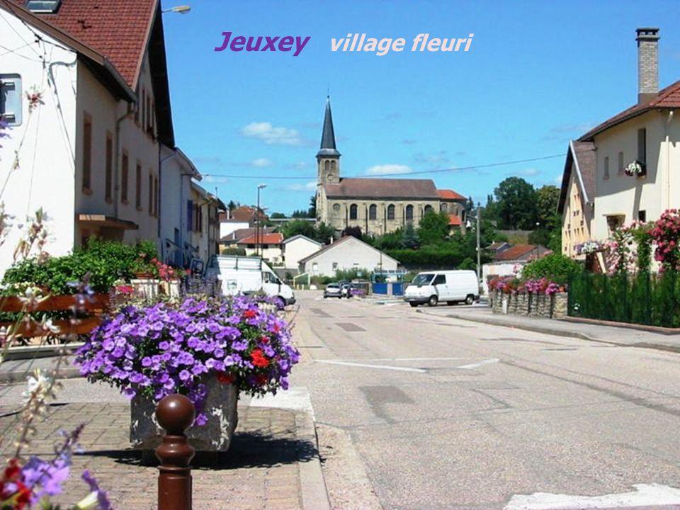 Jeuxey village fleuri