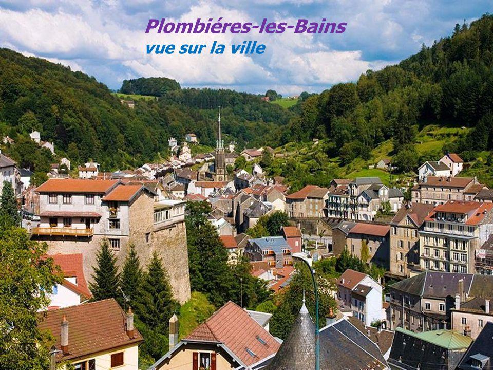 Plombiéres-les-Bains vue sur la ville