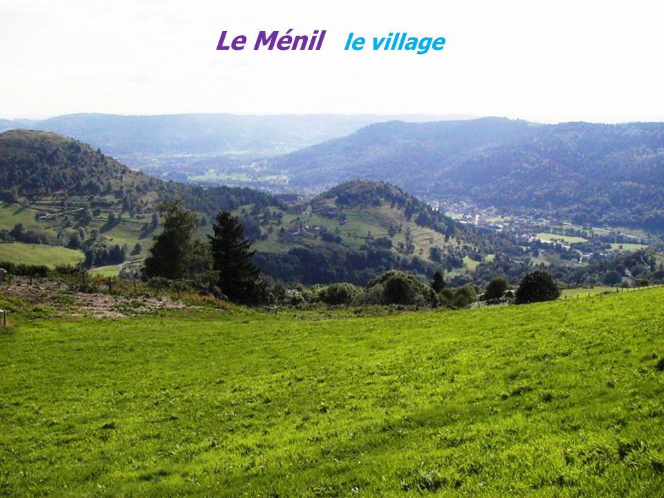 Le Ménil le village