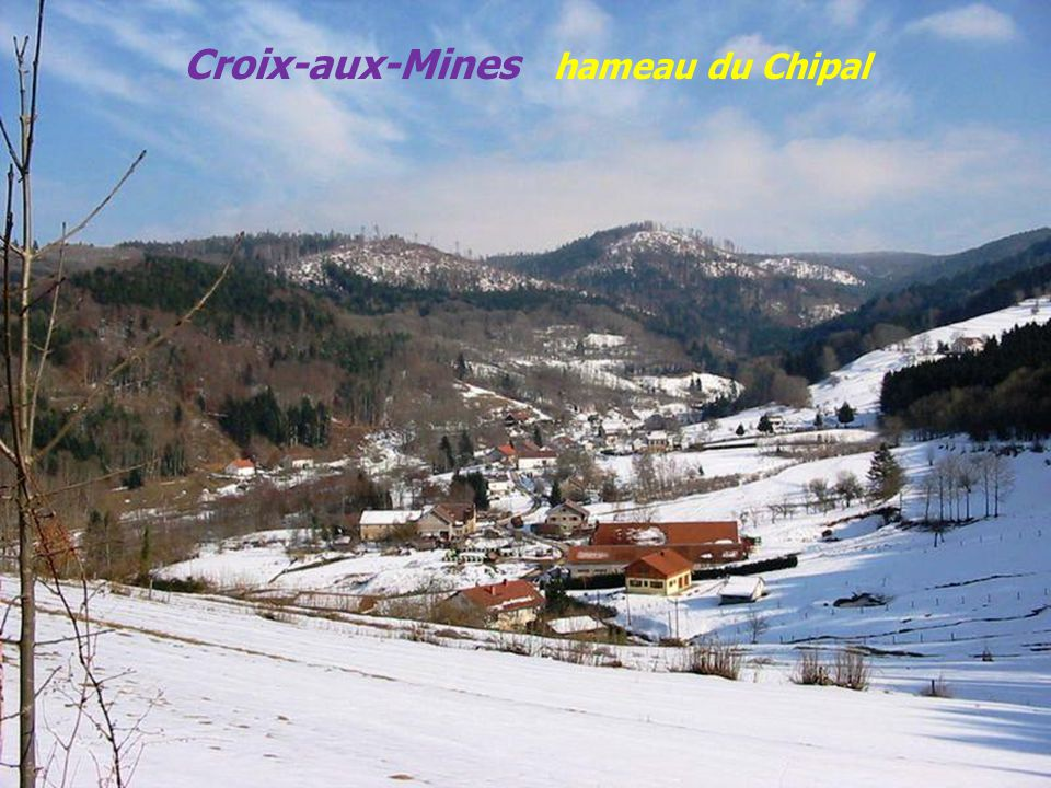 Croix-aux-Mines hameau du Chipal