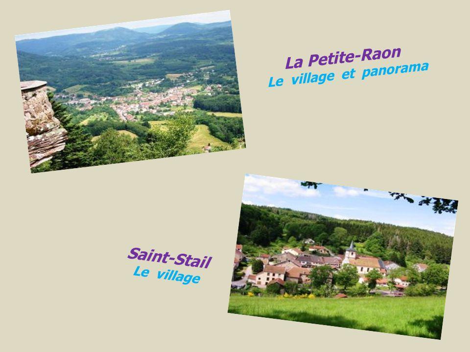 . La Petite-Raon Le village et panorama