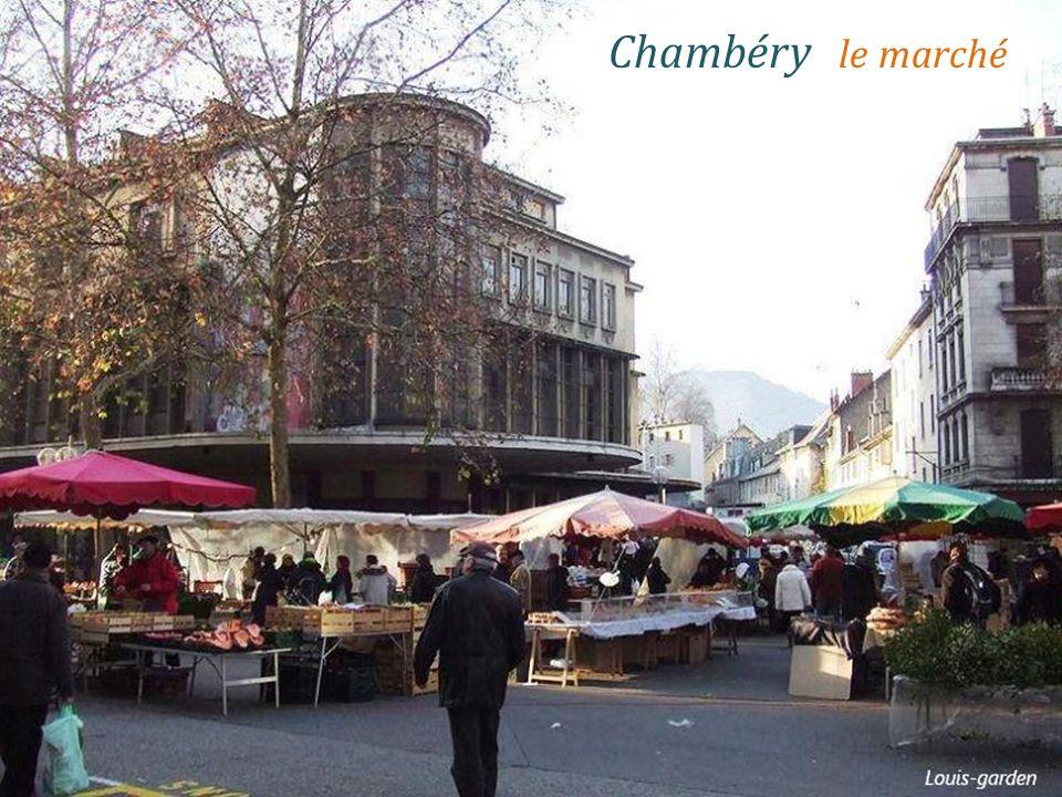 Chambéry le marché