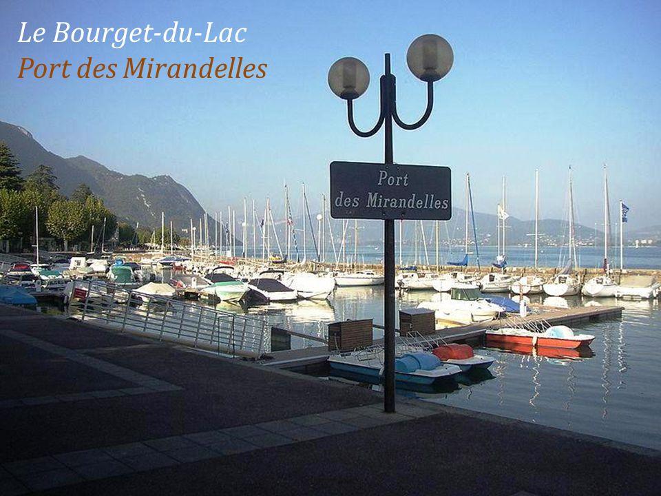 Le Bourget-du-Lac Port des Mirandelles