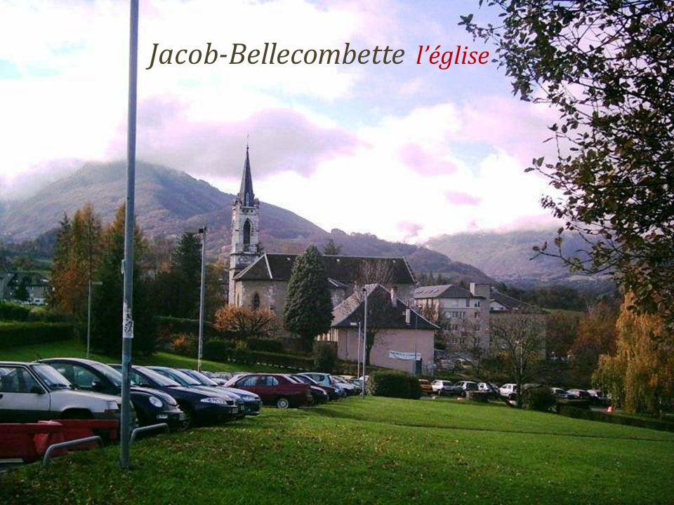 Jacob-Bellecombette l'église