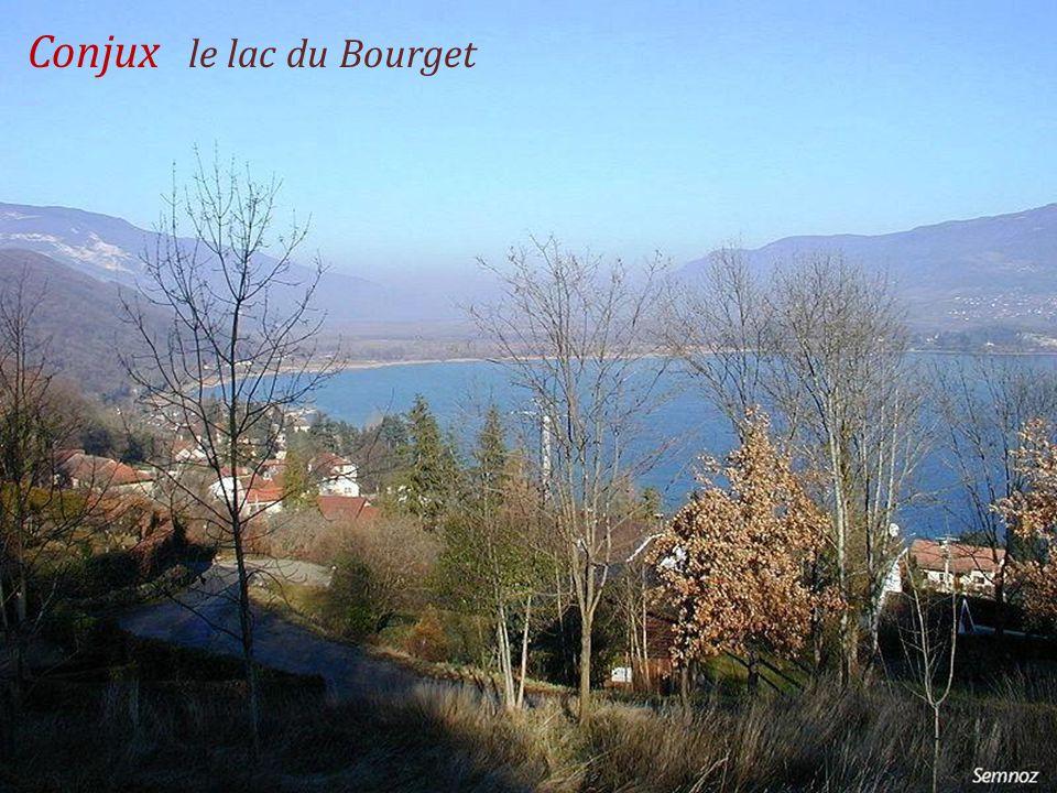 Conjux le lac du Bourget