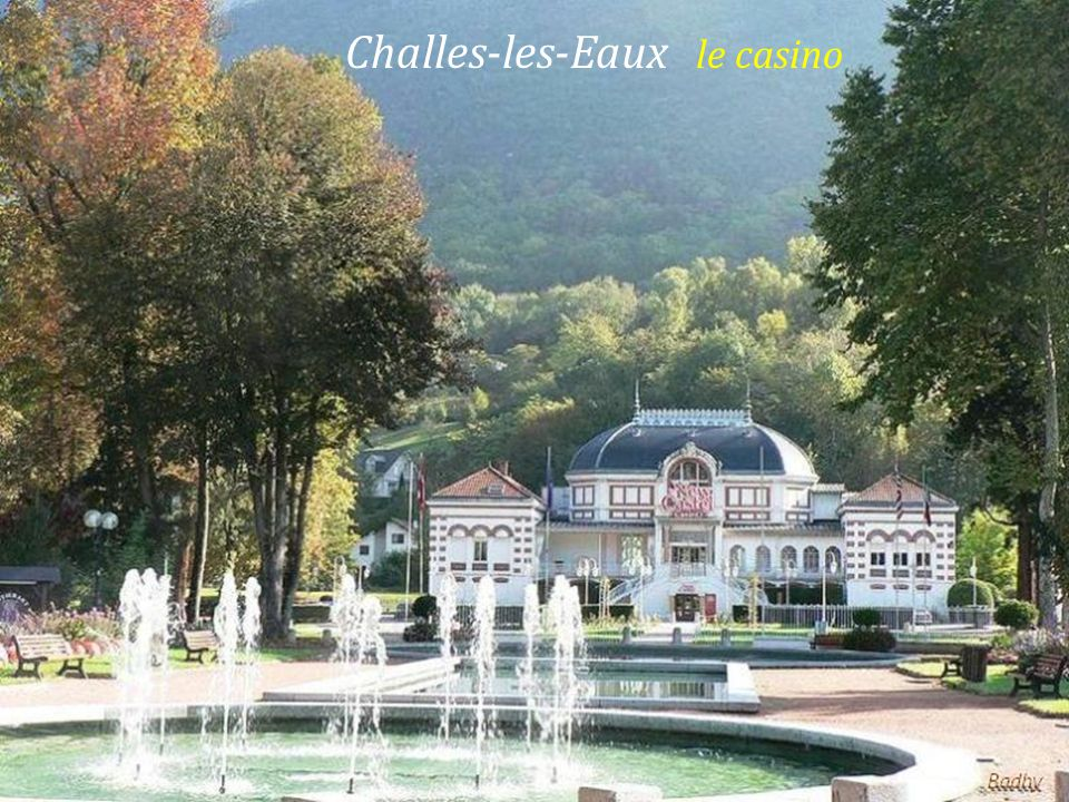 Challes-les-Eaux le casino