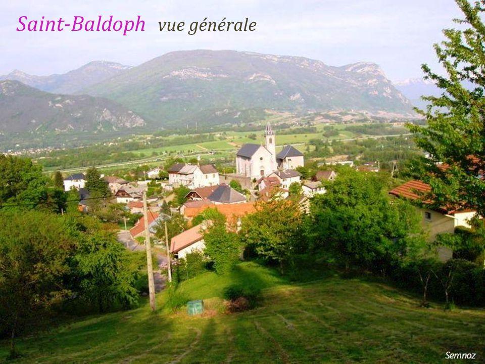 Saint-Baldoph vue générale