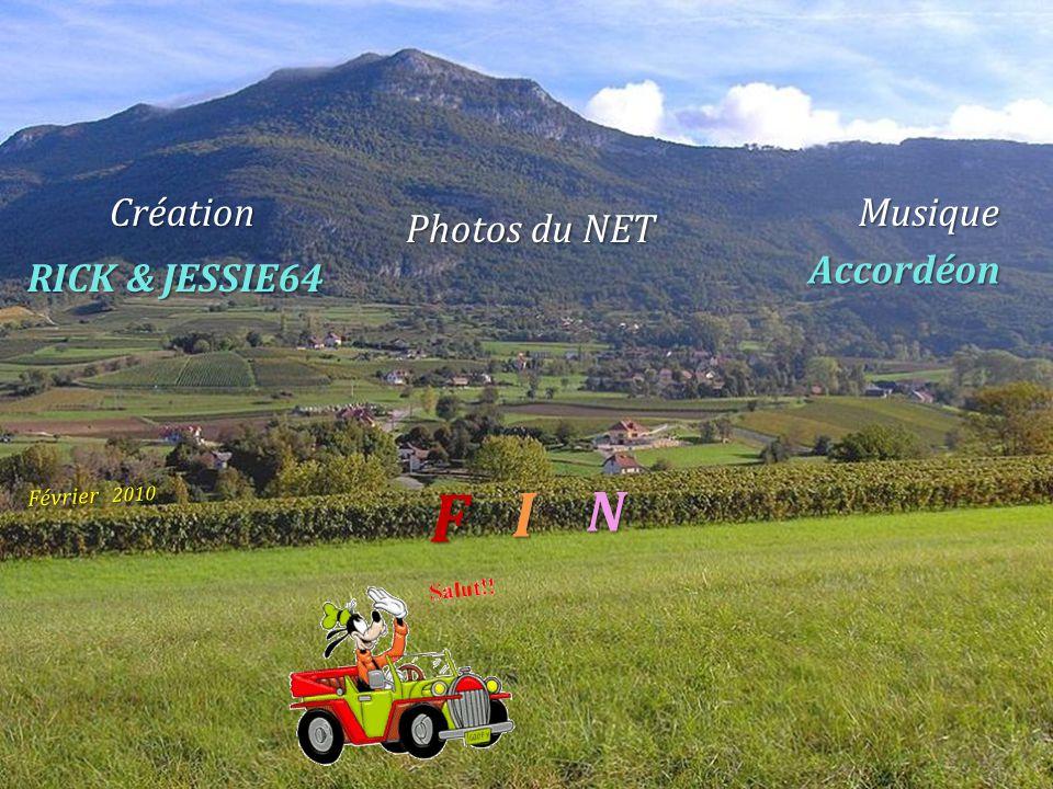 F I N Création Musique Photos du NET Accordéon RICK & JESSIE64