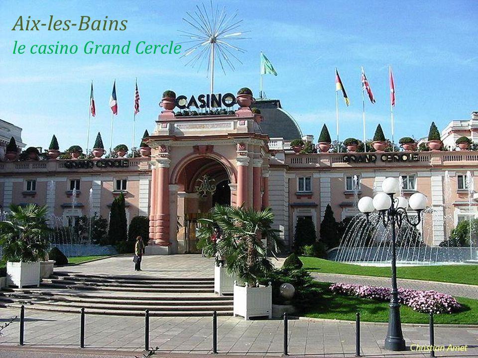 Aix-les-Bains le casino Grand Cercle