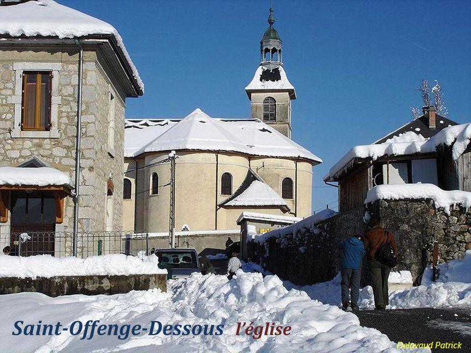 Saint-Offenge-Dessous l'église